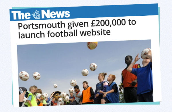 318 - Announcing Portsmouth's Community of Football project