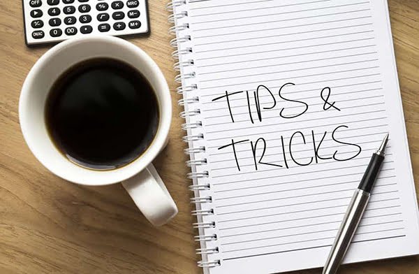top tips wooden background copywriting