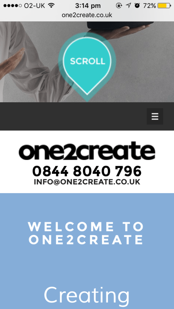 Mobile friendly website mobile site