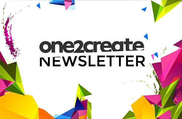 NEWSLETTER - One2Create September Newsletter 2016
