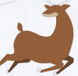 reindeer-vector
