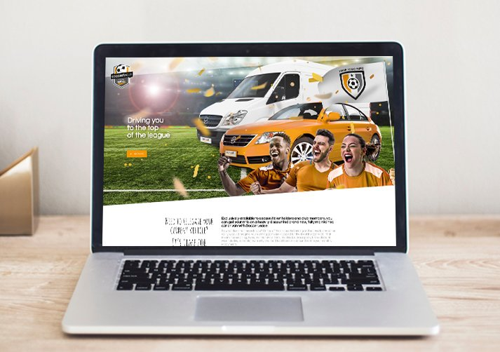 Soccer lease web design - SoccerLease