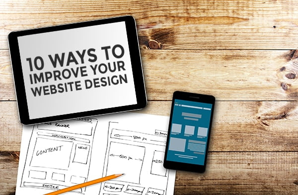 april improve website design 10 ways - 10 ways to improve your website design