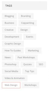 blog sidebar for web design project 162x300 - 25 fool proof ways to nail your web design project