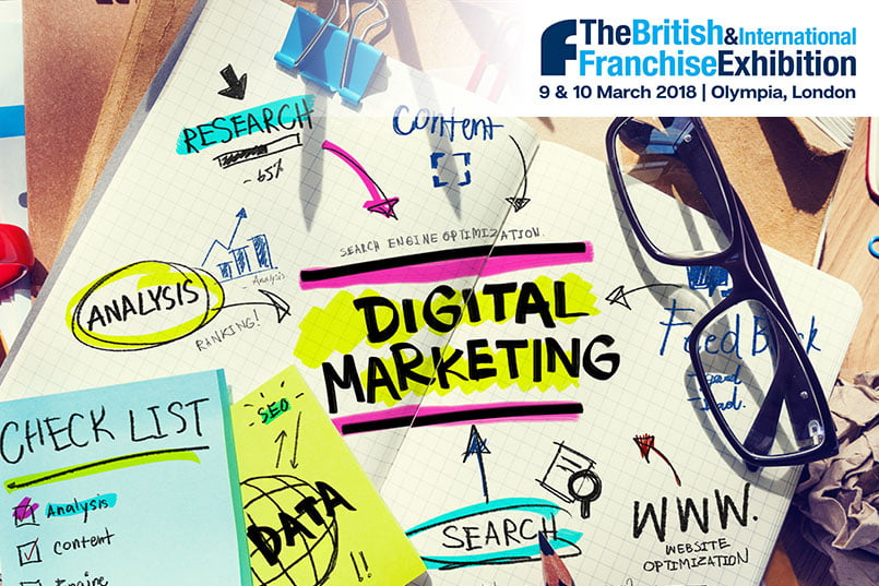 british franchise expo - 9th March 2018 | 11:30 - 12:15 | How to Stand Out from Your Competitors Online