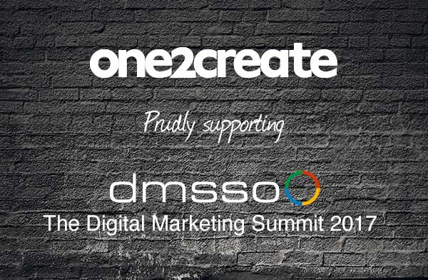 dmsso 2 - One2create supports The Digital Marketing Summit 2017