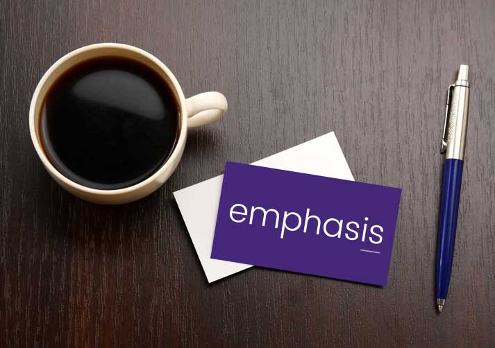 emphasis card2 - Emphasis