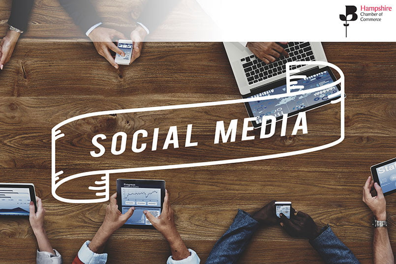 hampshire social media training august 2019 - 6th August 2019 | 9:30 - 12:30 | Social Media for Beginners