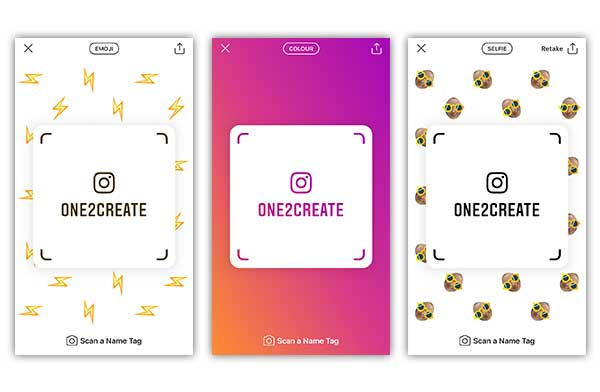 Introducing Instagram Nametags