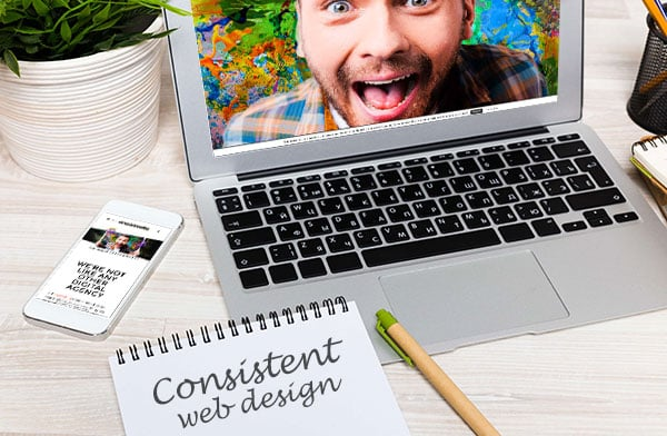 july consistent web design v1 - Why your web design needs to be consistent