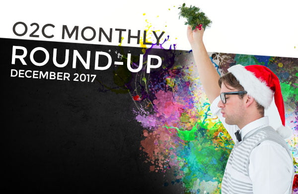 monthly round up dec17 - One2create Monthly December Round-up