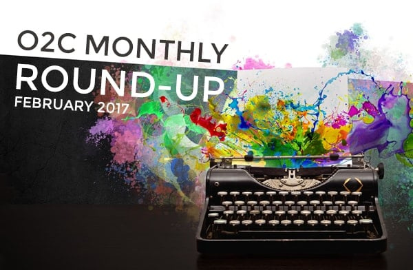 monthly round up feb17 - One2create February Monthly Round-Up