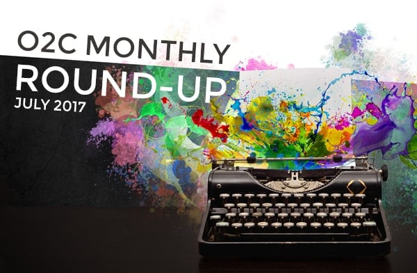 monthly round up jul17 - One2create July Monthly Round-Up