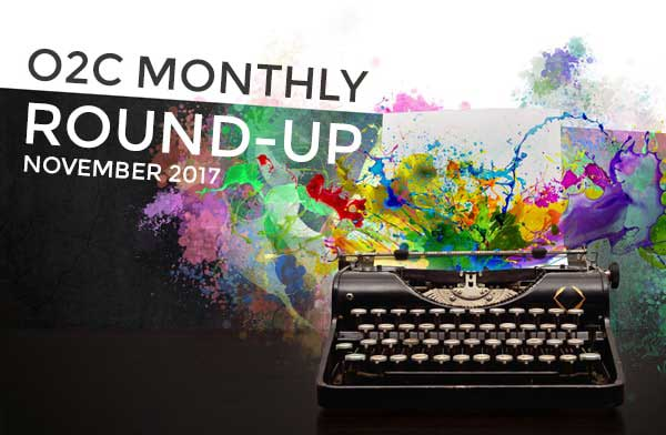 monthly round up nov17 - One2create Monthly November Round-up