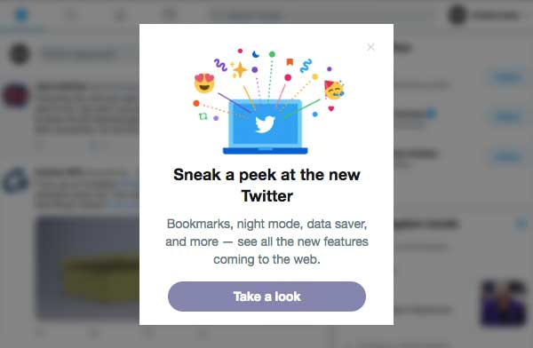 new twitter layout - Twitter releases sneak peek of new layout