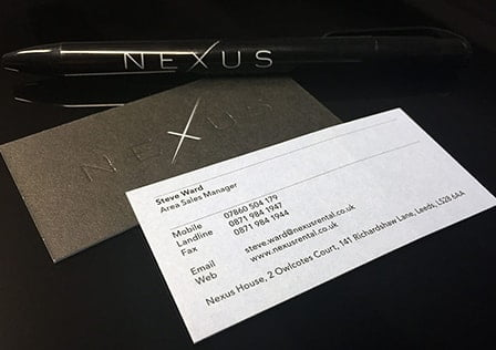 nexus stationery thumbnail - Nexus Rental