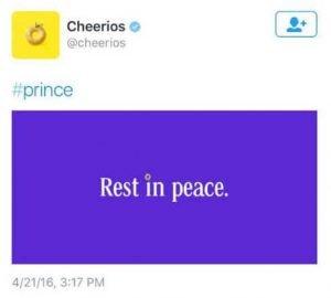 nov marketing fails 2016 cheerios tweet 300x270 - Top 5 Marketing Fails in 2016…so far