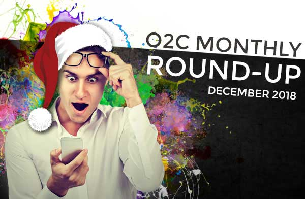 o2c monthly roundup DEC 2018 XMAS - One2create December monthly round up