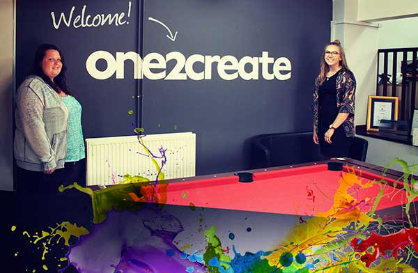 one2create apprentices - Welcome to our new apprentices