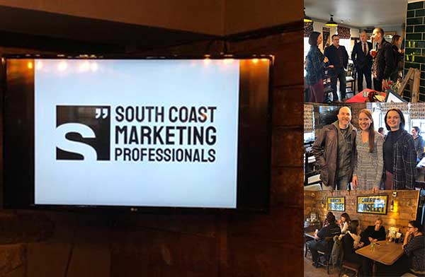 scmp launch - South Coast Marketing Professionals Launch