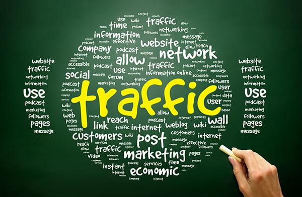 increase readership on blog globe of words