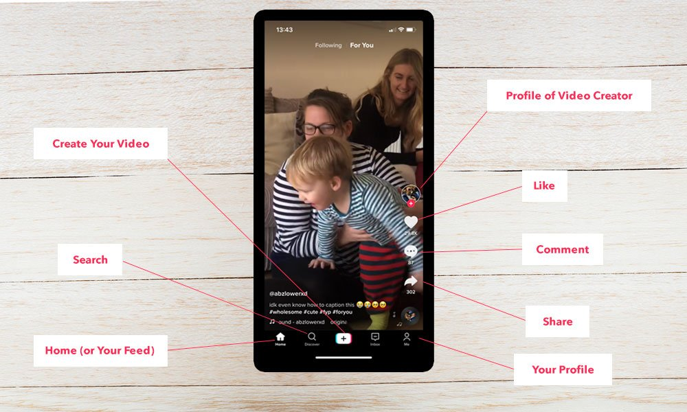 tiktok icons 1000x600px - What is Tiktok: A Guide to the New Social Media App