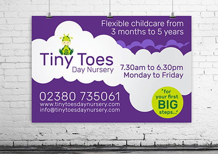 tiny toes featured - Tinytoes Day Nursery