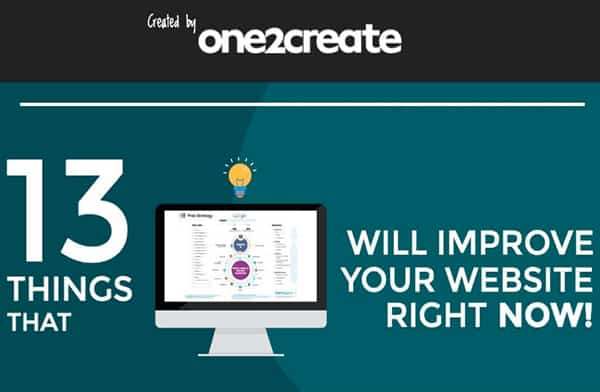 13 Ways to improve your website and Web design
