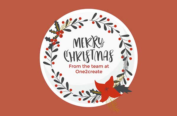 x mas 2016 - Merry Christmas from One2create